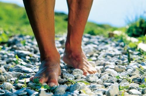 Mannen voeten